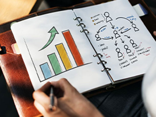 Increase your marketing efforts with a marketing plan.